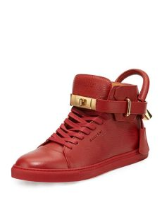 buscemi s 100mm high top sneakers neiman - Buscemi Sneakers