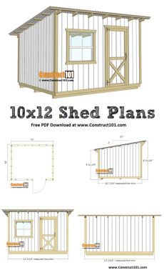 building a 10x12 lean to shed 10x12 lean to shed plans pdf construct101