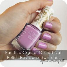 pacifica orchid nail review swatches logical harmony - Pacifica Nail Polish Review