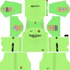 dls 18 barcelona gk kit fc barcelona 2019 2020 kit league soccer