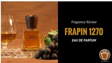 frapin 1270 fragrance cologne review - Frapin Perfume Review