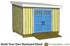 building a 10x12 lean to shed 10x12 shed plans building your own storage shed icreatables