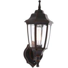 home depot hton bay lighting hton bay 1 light rubbed bronze outdoor dusk to wall lantern bpp1611 orb the home depot