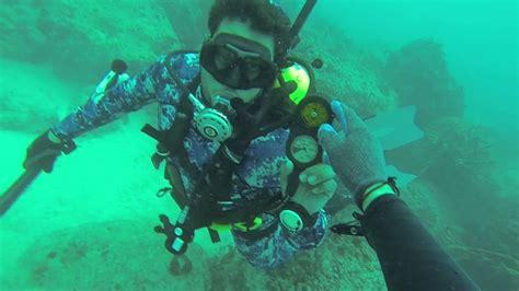 army tanks scuba diving miami youtube