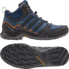 botas adidas terrex hombre adidas terrex r2 gtx botas outdoor corte medio hombre legend marine black tech
