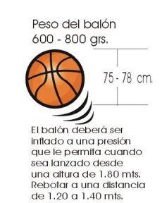 balon de basquetbol y sus medidas cuanto cuanto mide un balon de baloncesto