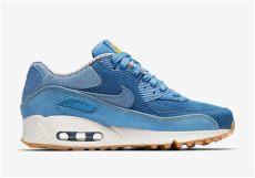 nike air max 90 denim blue nike air max 90 denim corduroy 881105 402 sneakernews