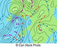 isobars editable vector illustration generic weather