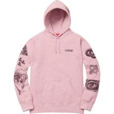 supreme mc escher hoodie pink pre owned supreme mc escher hoodie dusty pink modesens