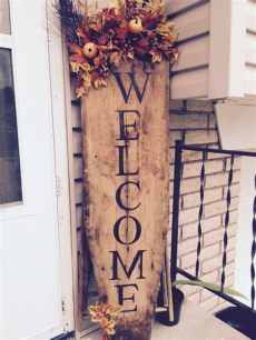 porch board welcome ironing board welcome sign in front porch outside ironing boards front porches