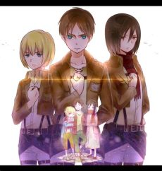 attack on titan eren and mikasa and armin shingeki no kyojin attack on titan image armin eren mikasa korsgaard s commentary