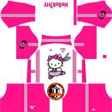 kit dls warna pink kit hello dls 2016 fts league soccer kits