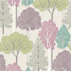 tree motif wallpaper new arthouse ellwood tree pattern forest leaves motif glitter wallpaper roll ebay