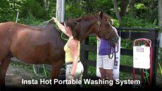 insta hot portable equine washing system insta equine portable washing system exclusively from schneiders