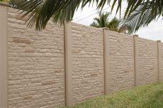 forta ferro fiber precast concrete fence cost per foot - Precast Concrete Fence Panels Cost