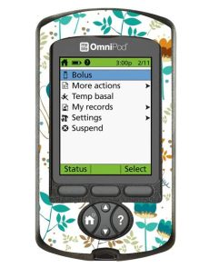 omnipod pdm case uk omnipod pdm cover white floral diabeticsupply co uk