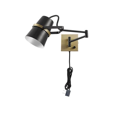 globe electric 51345 2020 swing arm wall sconce