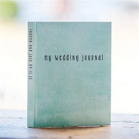 wedding journal notebook wedding planner personalized
