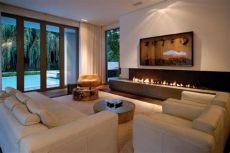 fotos de salas modernas con chimeneas hermosas salas con chimeneas modernas salas con estilo