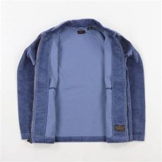 levis skateboarding corduroy mechanics jacket in blue levis mens skate mechanics corduroy jacket 3 vintage indigo blue 163 57 00