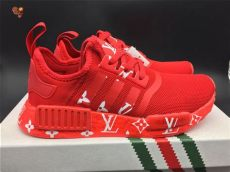 authentic louis vuitton x adidas nmd r1 white on sale for cheap wholesale - Adidas Nmd Louis Vuitton Red