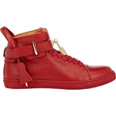 buscemi sneakers buscemi 100mm leather high top sneakers in lyst