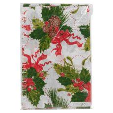 christmas tablecloths uk disposable tablecloth festive rectangle table cloth tableware oblong ebay