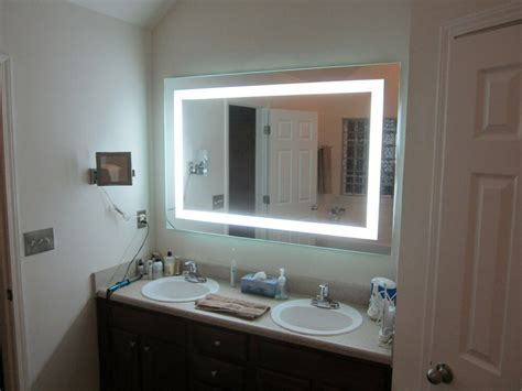 lighted vanity mirrors wall mounted 60 wide 40