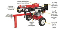 northstar 30 ton log splitter manual product northstar horizontal vertical log splitter 30 ton 160cc honda gx160 engine