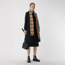 burberry cashmere scarf vintage the classic vintage check scarf in antique yellow burberry united kingdom