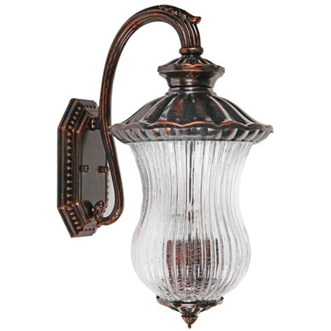 dorit traditional wall lights copper bronze ip44 outdoor