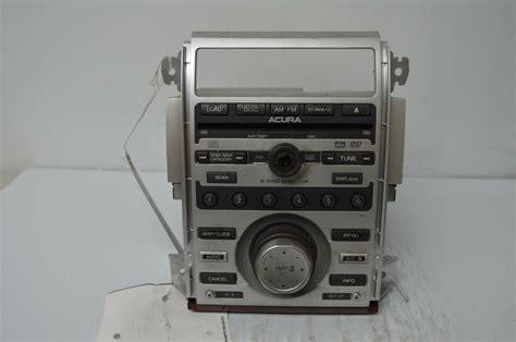 2005 acura rl xm satellite radio stereo mp3