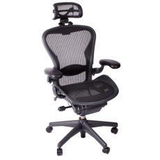 herman miller aeron fully loaded office chair with headrest review - Herman Miller Aeron Chair Headrest