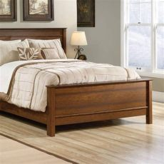 estilos de camas matrimoniales en madera base de cama sauder washington cherry 2 490 00 en walmart mx muebles de dormitorio