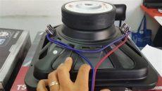 como conectar un subwoofer a un minicomponente como conectar un woofer a 8ohms