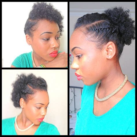 epic quick natural hairstyles short hair 15 inspiration