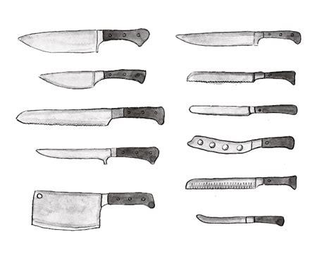 understand types kitchen knives