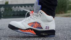 air 5 international flight quot on quot early look - Air Jordan 5 International Flight On Feet