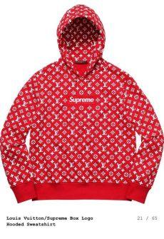 louis vuitton x supreme food hoodies red supreme x louis vuitton hoodie supreme clothing supreme hoodie louis vuitton supreme
