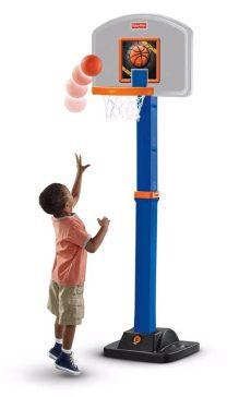 canasta de basquetbol para ninos fisher price juguete tablero infantil baloncesto basquetbol fisher price 3 478 80 en mercado libre