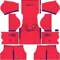 dls 18 kit gk barcelona 2018 kit for dls 17 league soccer creat your team shyz476