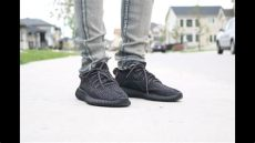 yeezy 350 boost pirate black review on hd - Yeezy Boost 350 Pirate Black On Feet