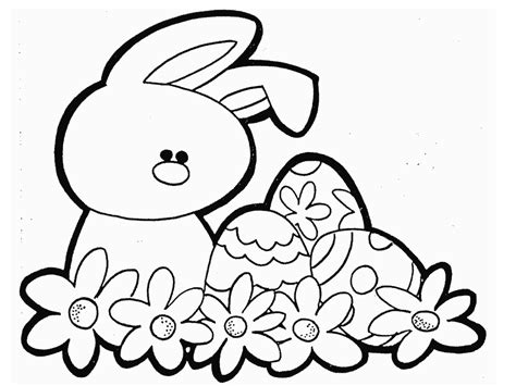 easter colouring easter bunnies eggs colouring pics