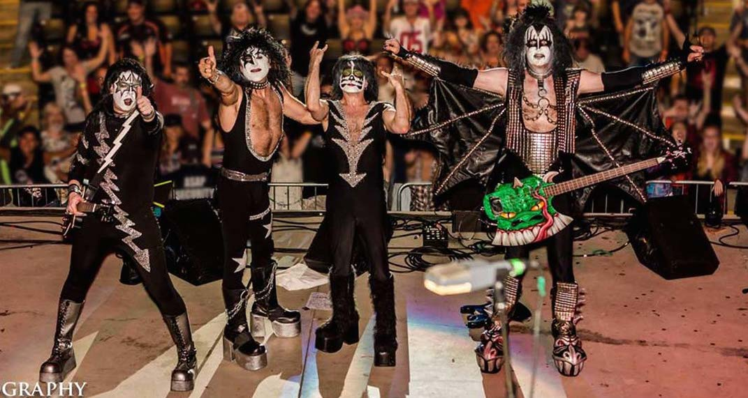 Almost KISS Tribute Band at TSE Entertainment