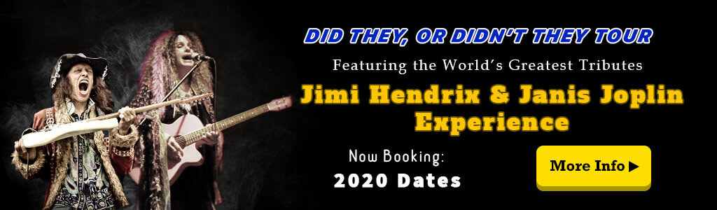 Jimi Hendrix Tribute and Janis Joplin Tribute Tour