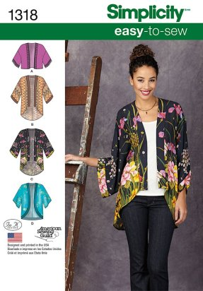 Simplicity #1318 kimono pattern