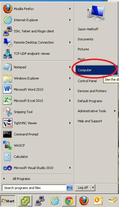 Personal Folder Security Windows 7