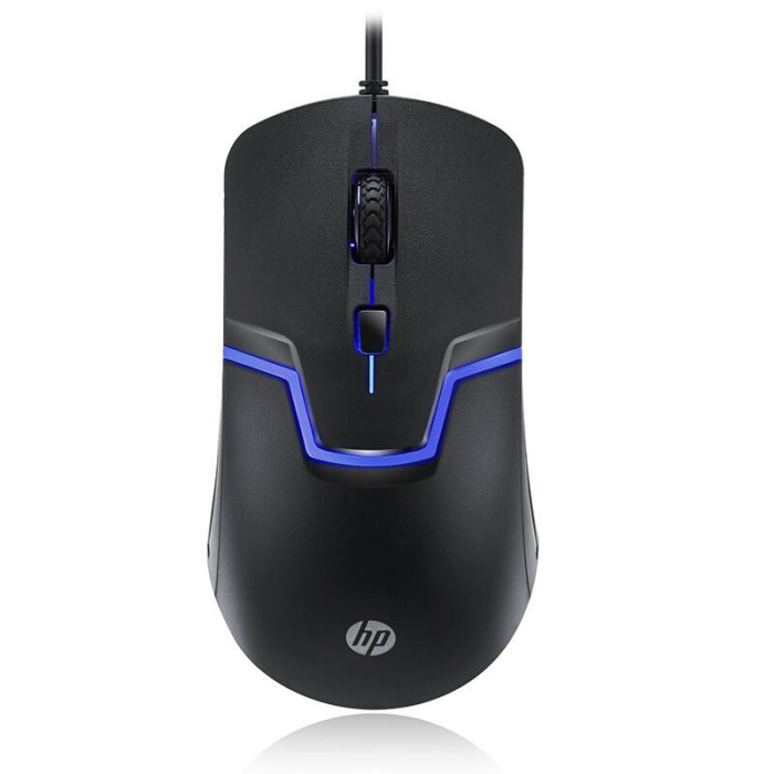 HP M100 Wired Gaming Optical Mouse