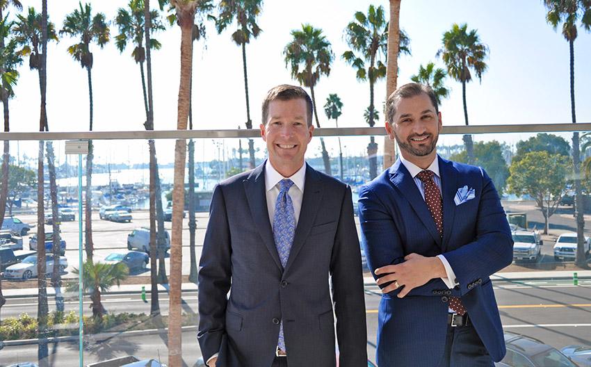 Mark Schulten and Allen Schreiber of TSG Wealth Management