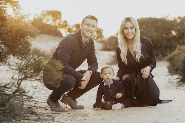 Tyler Chernack and Family